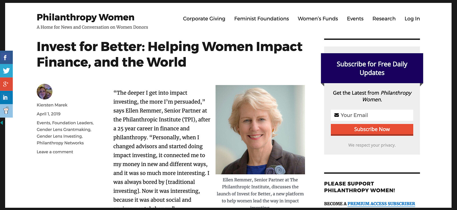 Philanthropy_Women