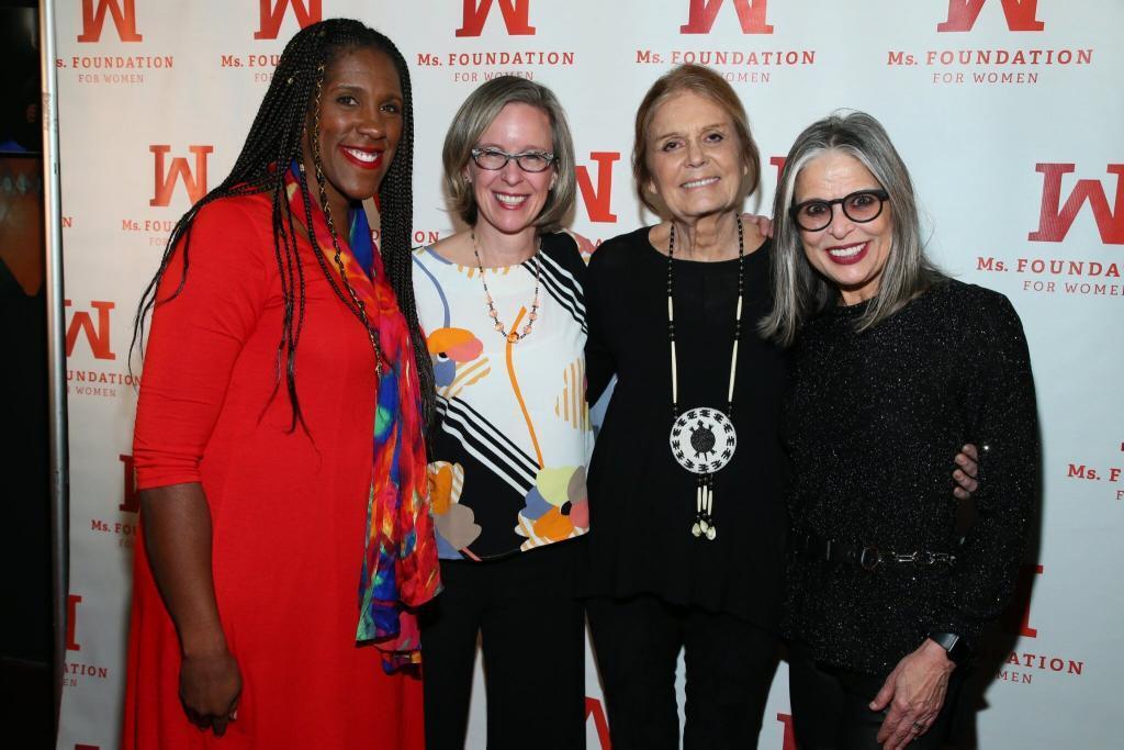 Teresa Younger, Jenny Raymond, Gloria Steinem, Ruth Ann Harnisch